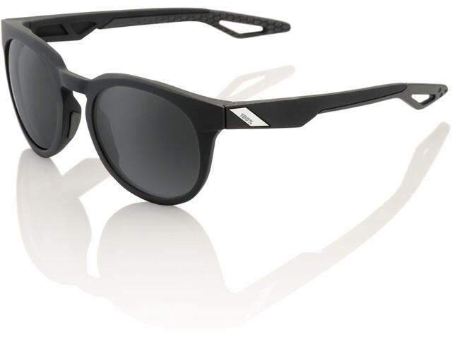 100% Campo Pyöräilylasit, soft tact black | grey peakpolar